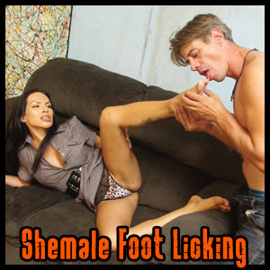Shemale Foot Worship