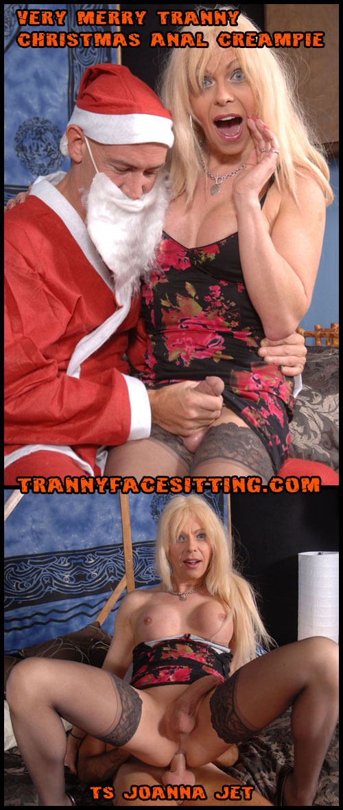 Tranny Christmas with Joanna Jet